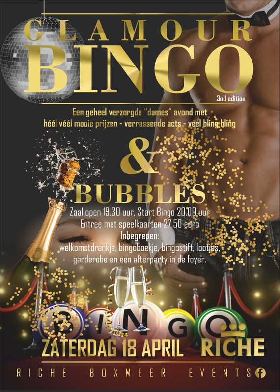 Glamour Bingo & Bubbels - 3rd edition