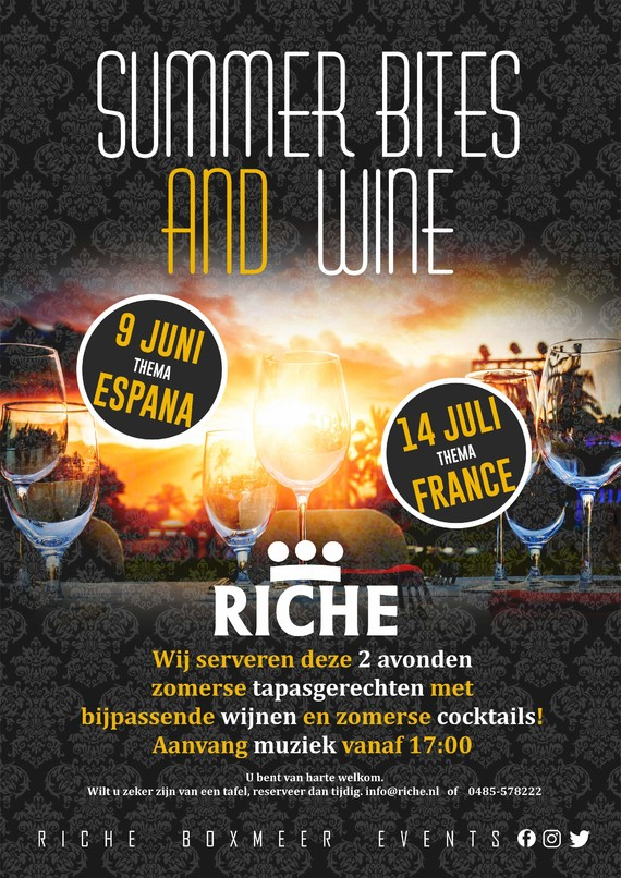 Summer Bites & Wines